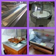 Продам холодильные витрины бу для кафе,  ресторана,  столовой,  продуктов